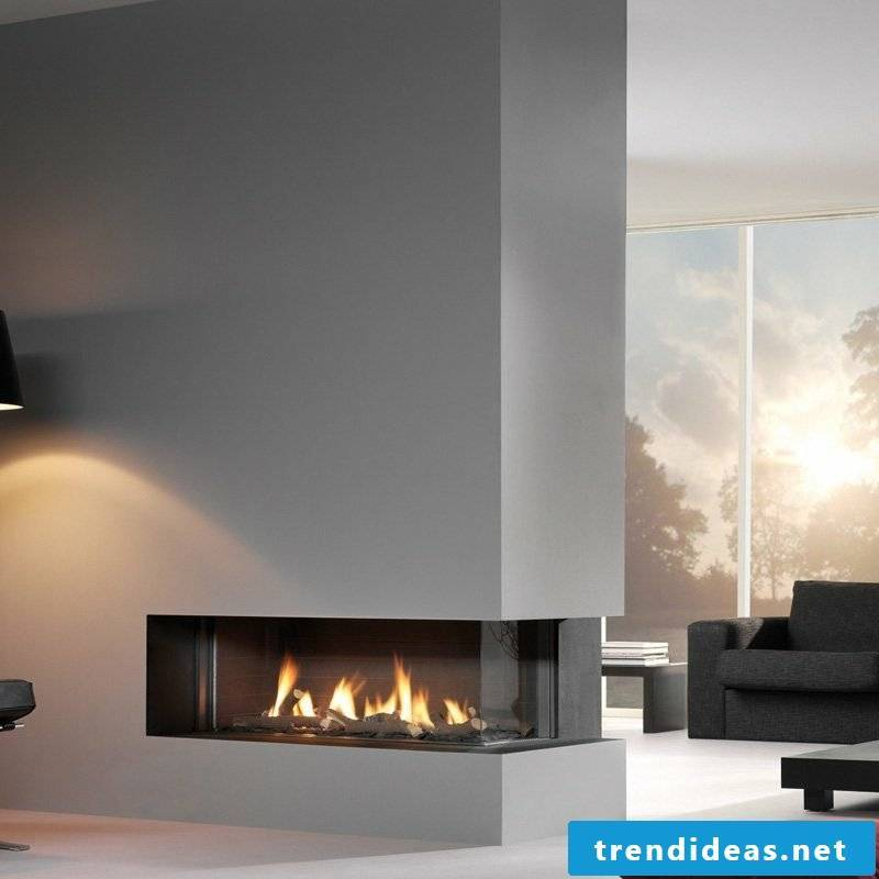 A suitable alternative to the wood burning fireplace gas fireplace