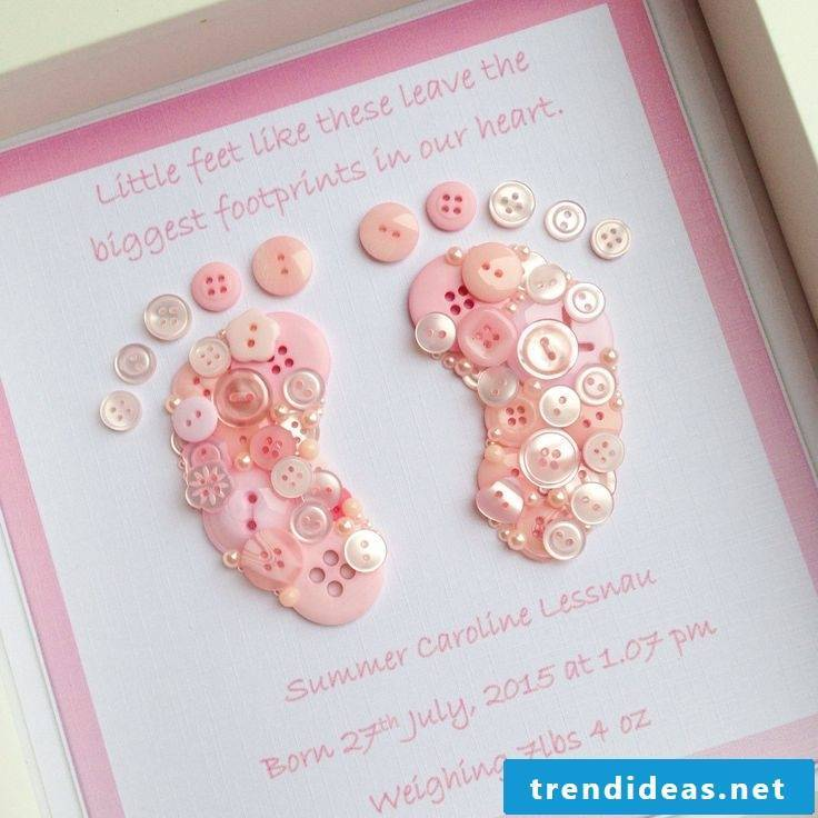 Babys birthday gifts ideas and instructions