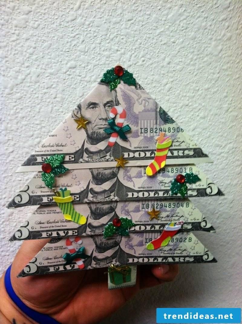 money gifts foldin money christmas tree christmas