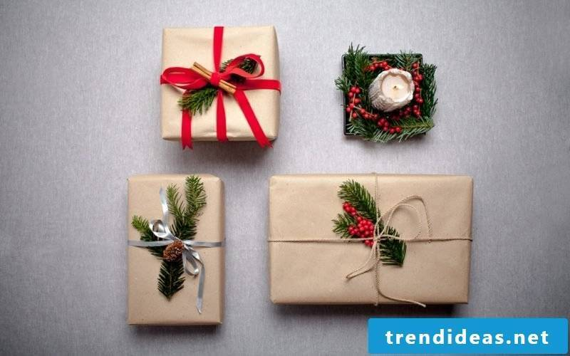 Gifts wrap Christmas inspirational DIY ideas