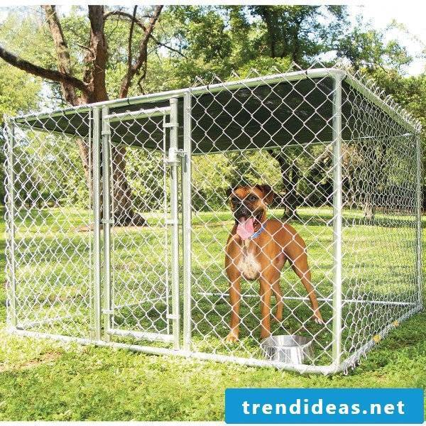 Build dog kennels yourself: take into account important criteria!