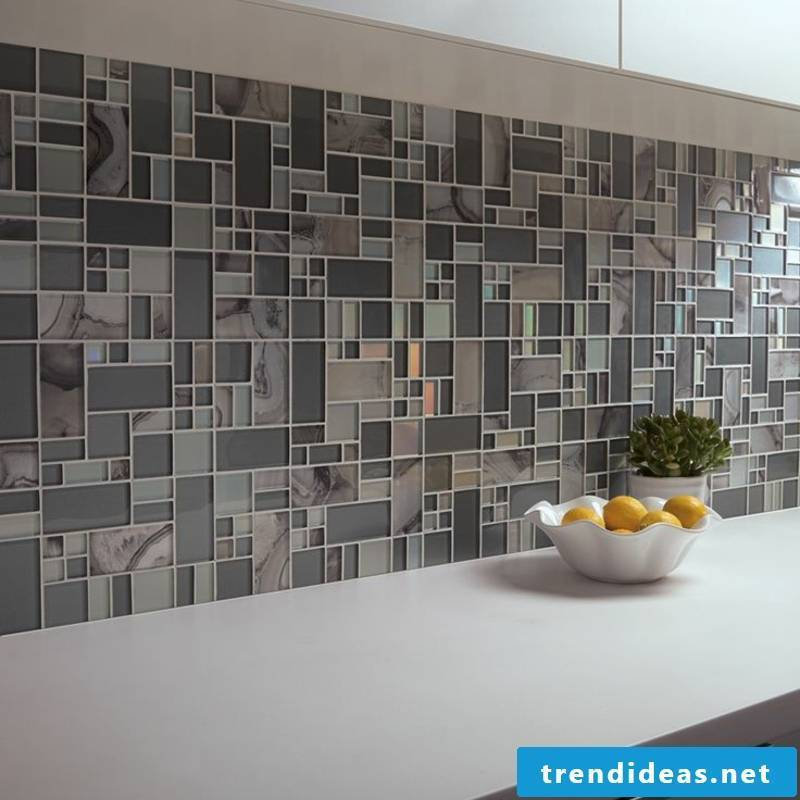 glass mosaic for the kitchen
