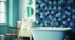 Glass mosaic for a noble look