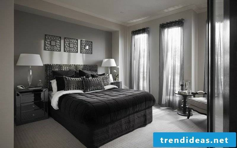 Bedroom wall paint pearl gray