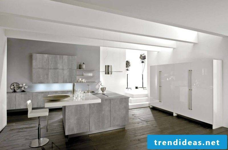 Kitchen Gray modern Nuance Pearl Gray