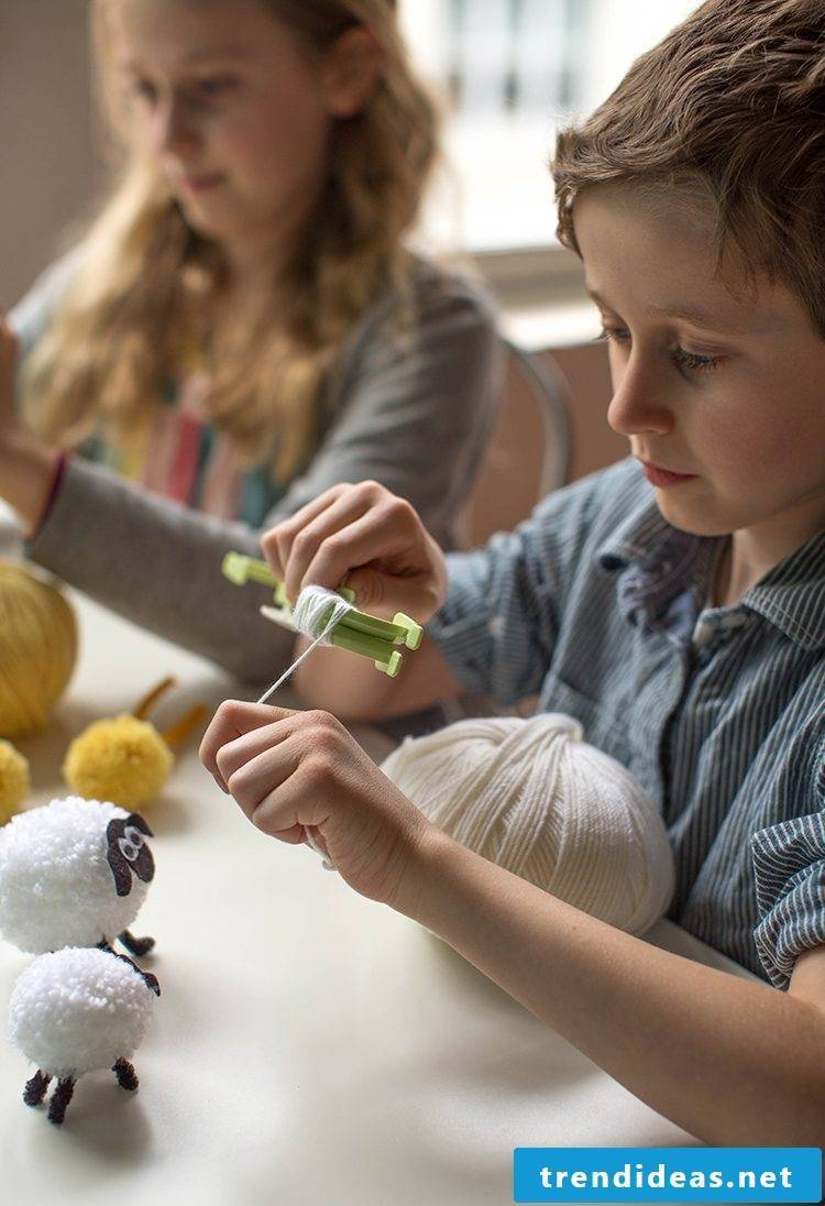 Crafting ideas for children for Easter