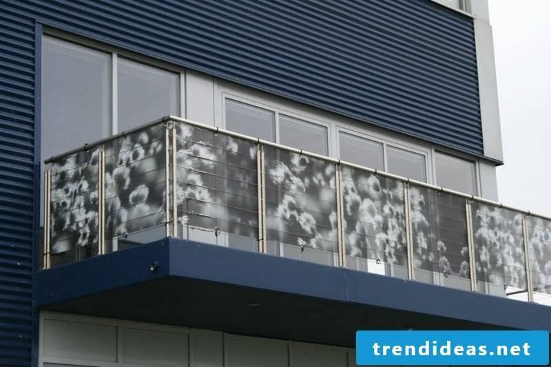 Balcony covering fabric original