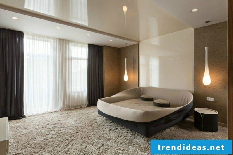 Wall decoration Ideas bedroom high gloss panels