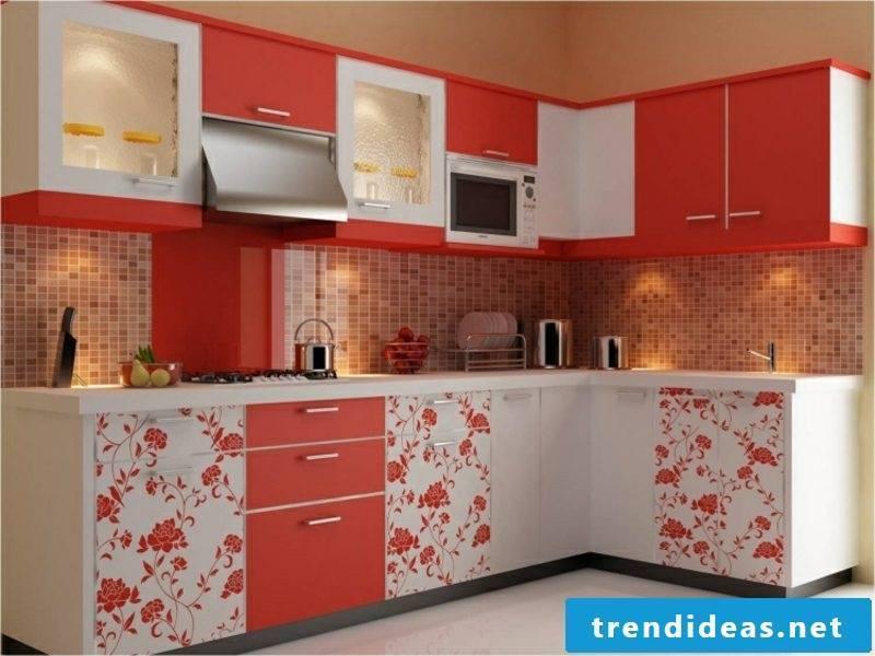 Wall design ideas kitchen mosaic tiles