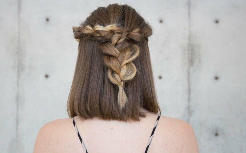 ponytail hair for shoulder-length hair