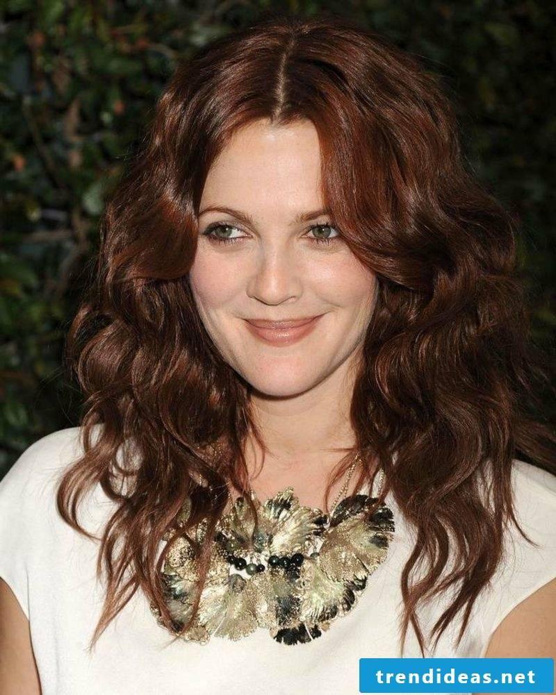Hair color mahogany