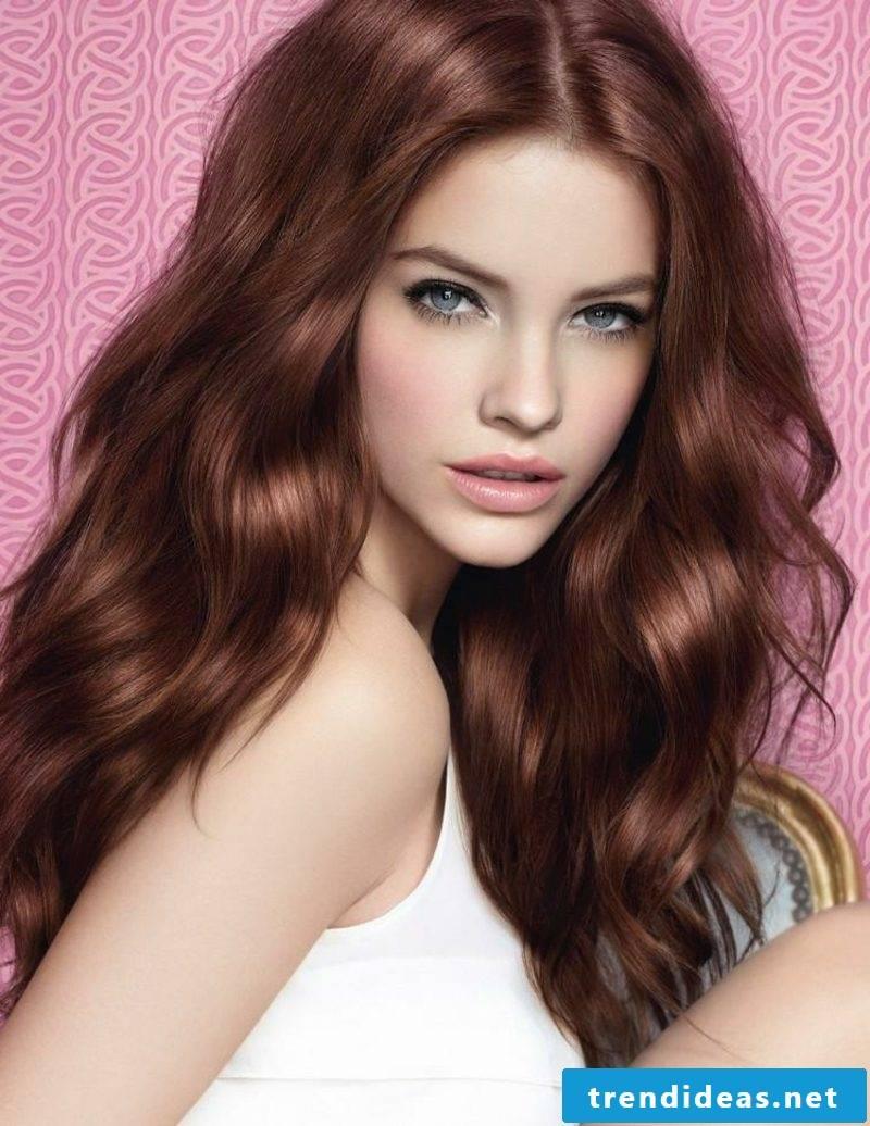 Hair dye lunar calendar color mahogany