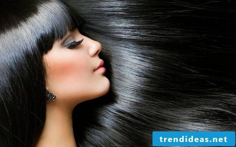 Hair coloring Black lunar calendar