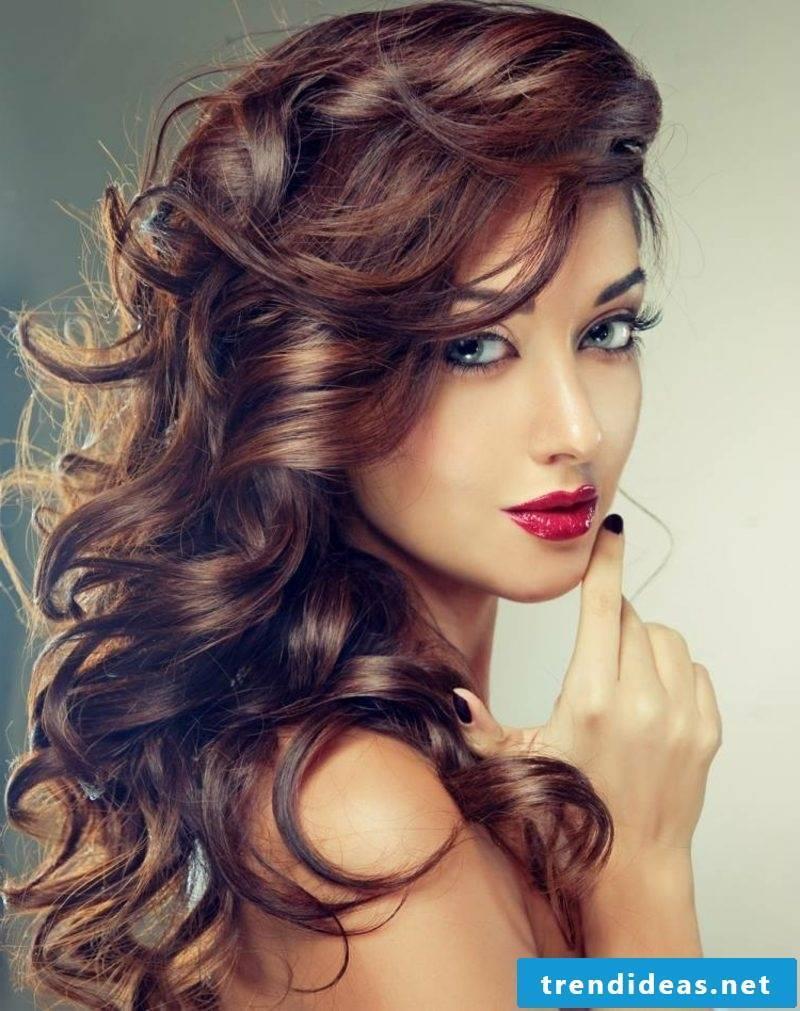 Hair coloring lunar calendar