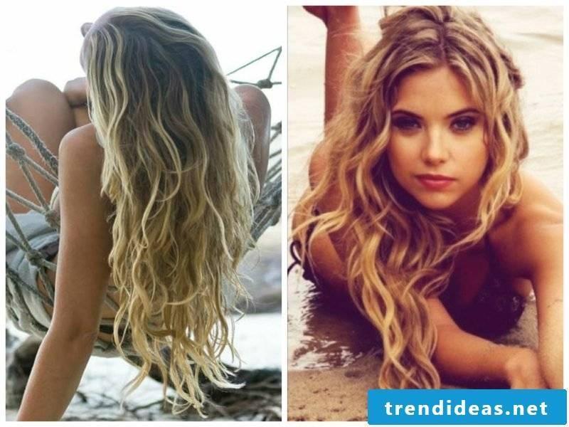 Hairstyles Long Hair Beach Waves