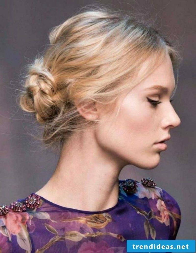 half length hairstyles women knotendutt