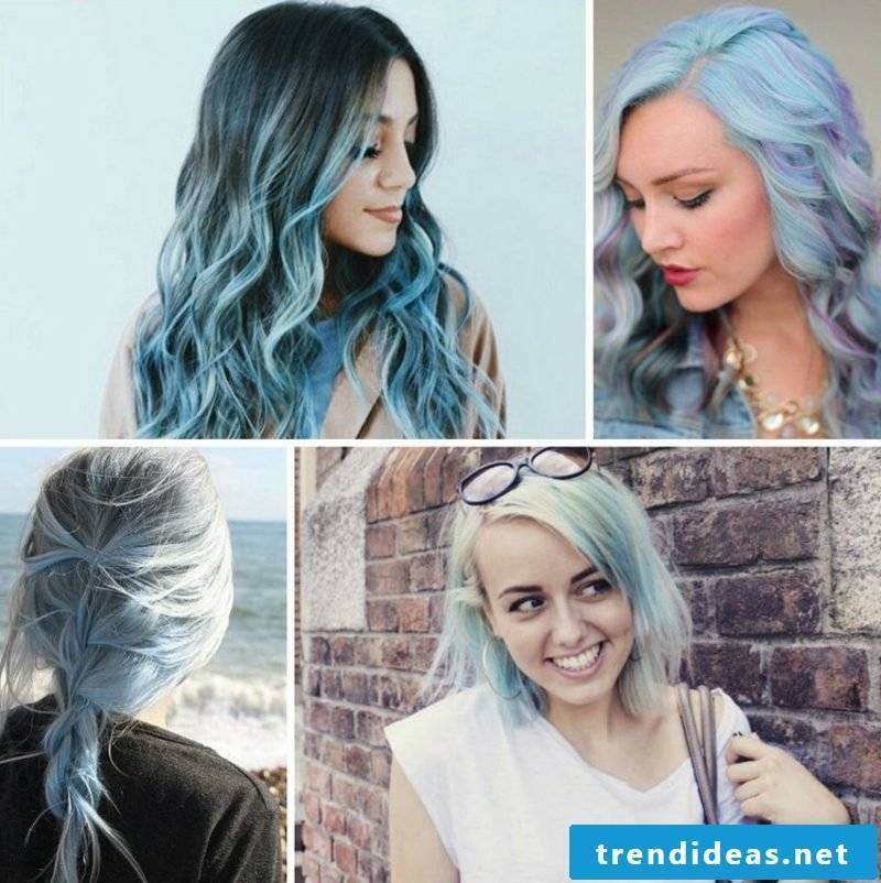 Hair colors trends 2017