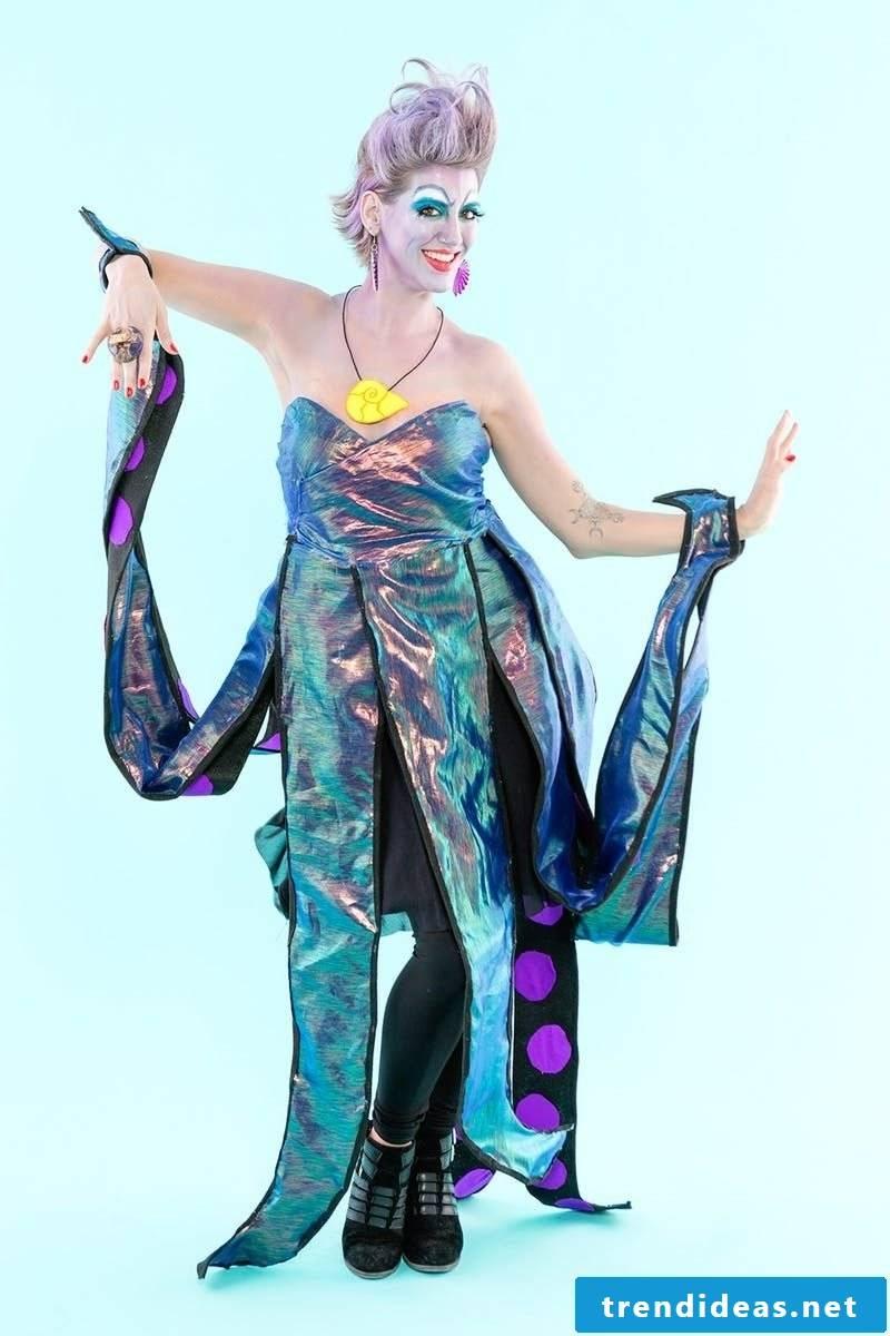 Halloween costumes Ursula