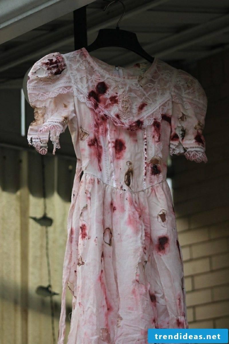 Halloween Costume Ladies Zombie DIY