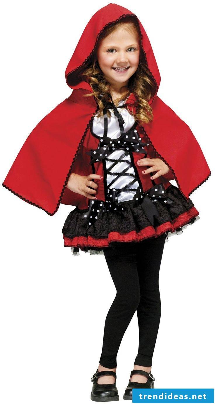 The Red Riding Hood - a classic in Halloween costumes