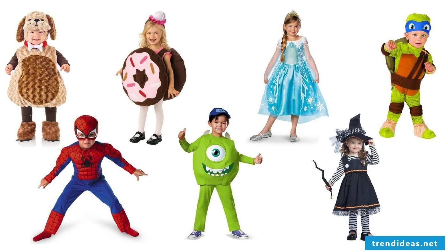 Great kids costumes for Halloween