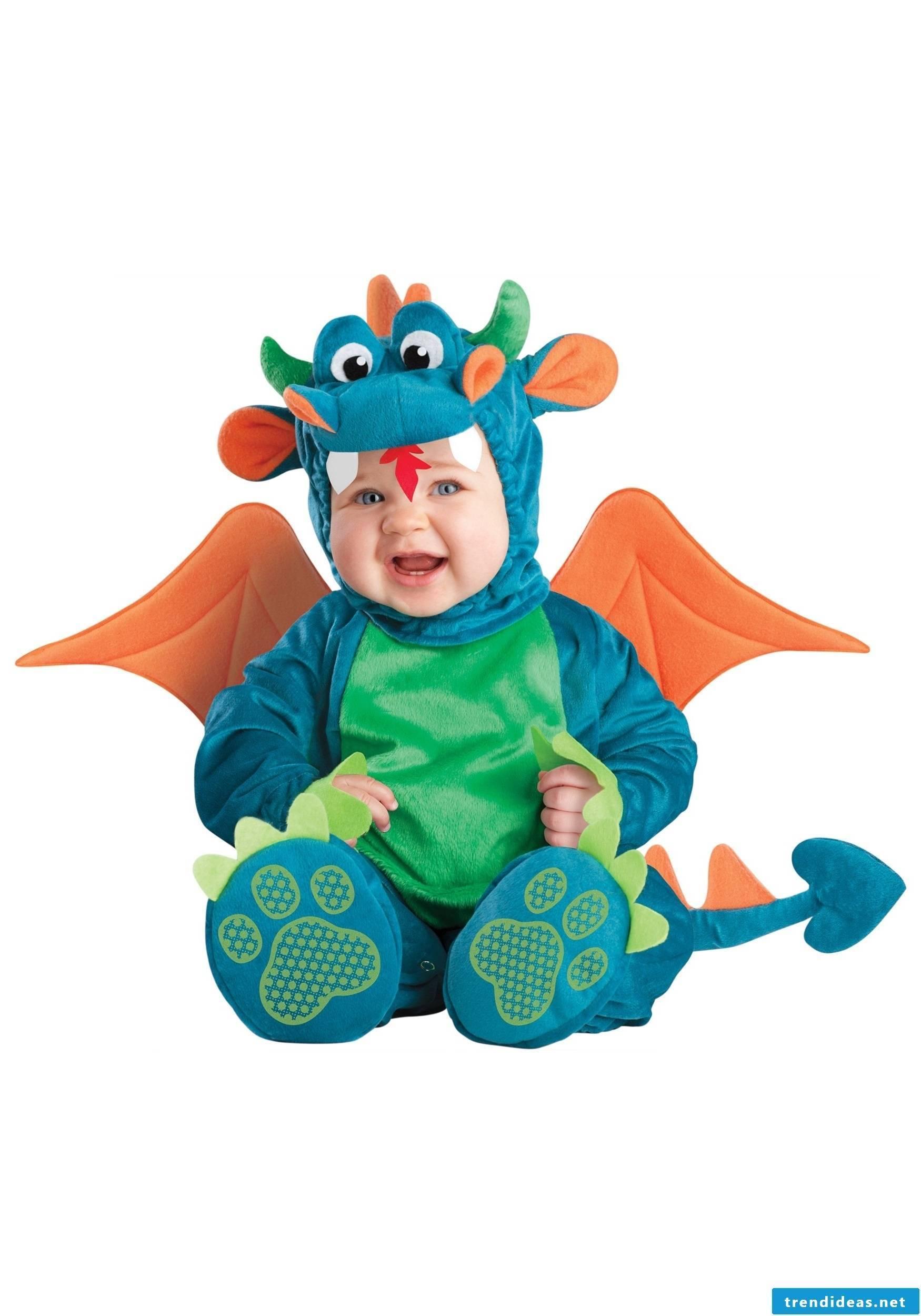 A cute baby dragon