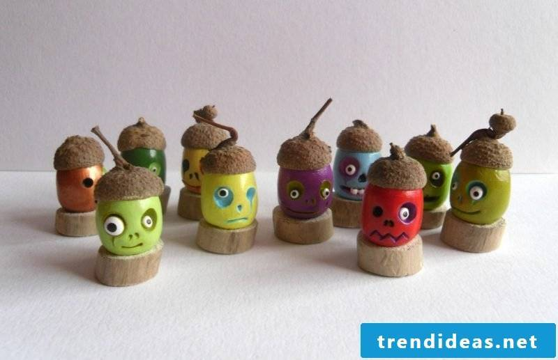 Fimo ideas for Halloween table decoration