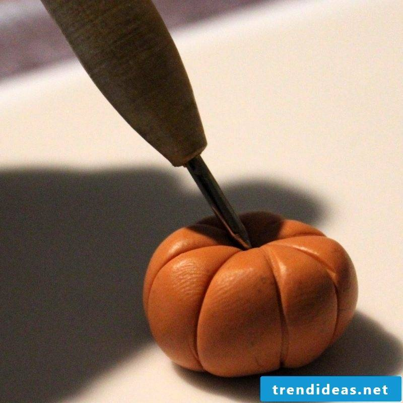 Fimo Ideas for Pumpkin: Instructions Step 3