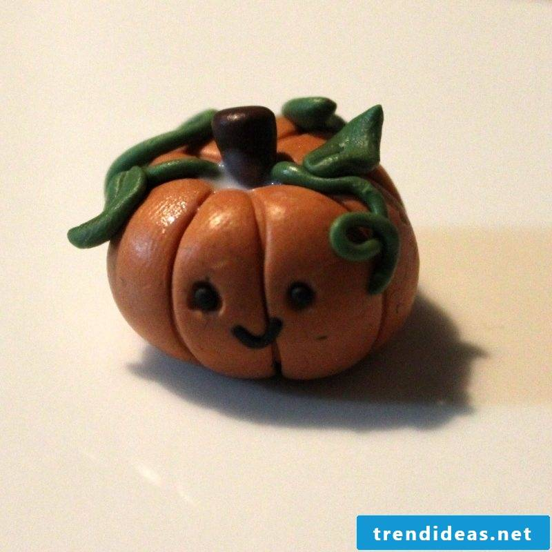 Fimo Ideas for Pumpkin: Instructions Step 6 - Baking