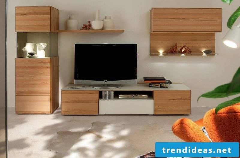 Media furniture provides for your entertainment and the best feeling of well-being!