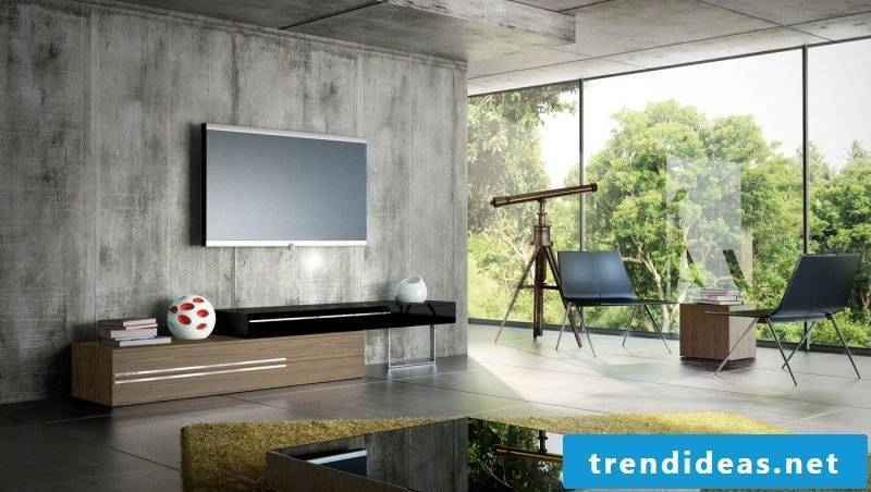Stylish media furniture will give your home a charming look!