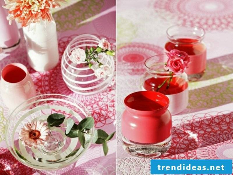 homemade gifts creative DIY ideas vases decorating