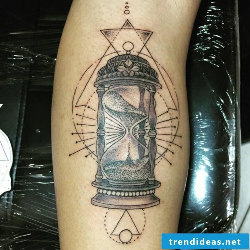 Hourglass Tattoo Tribal