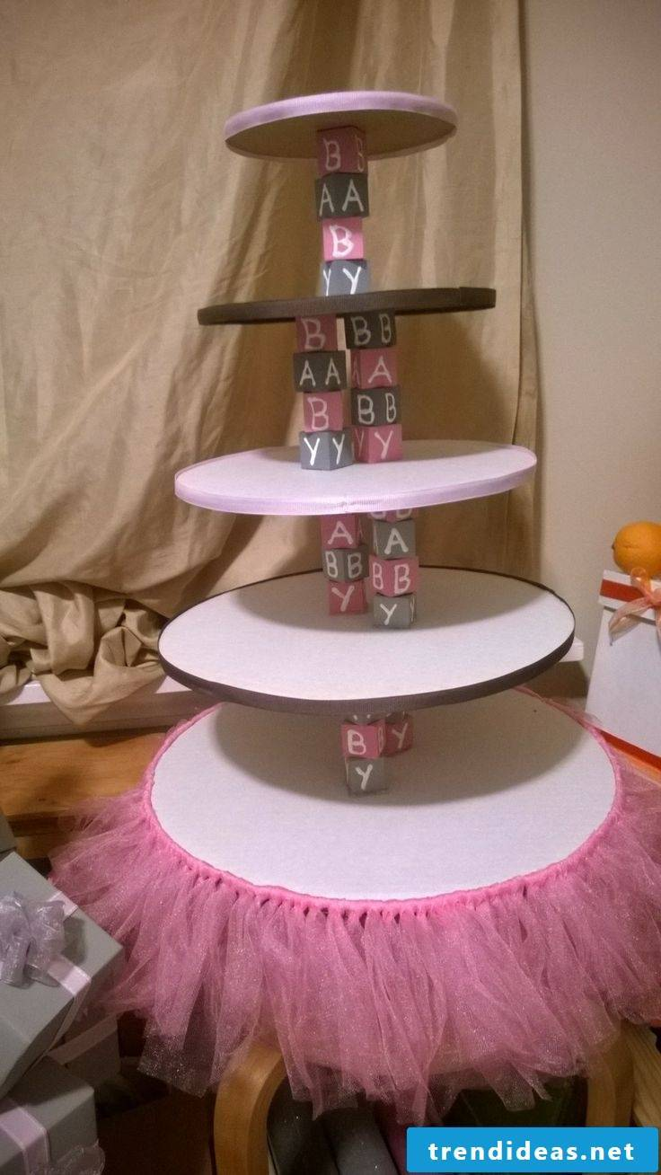 Baby Girl Party etagere