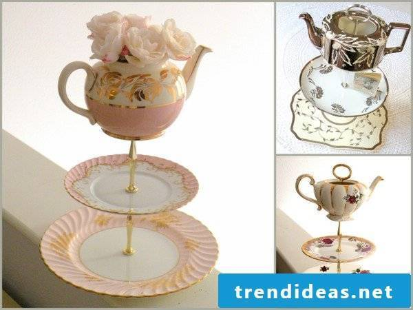 Fancy cake stand for tea party