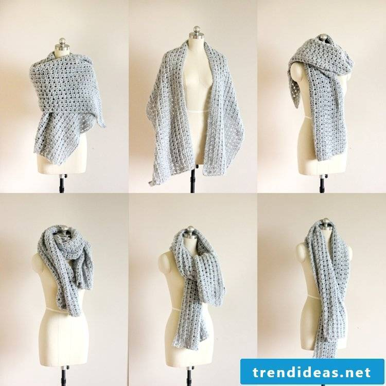 Ideas for a lady scarf
