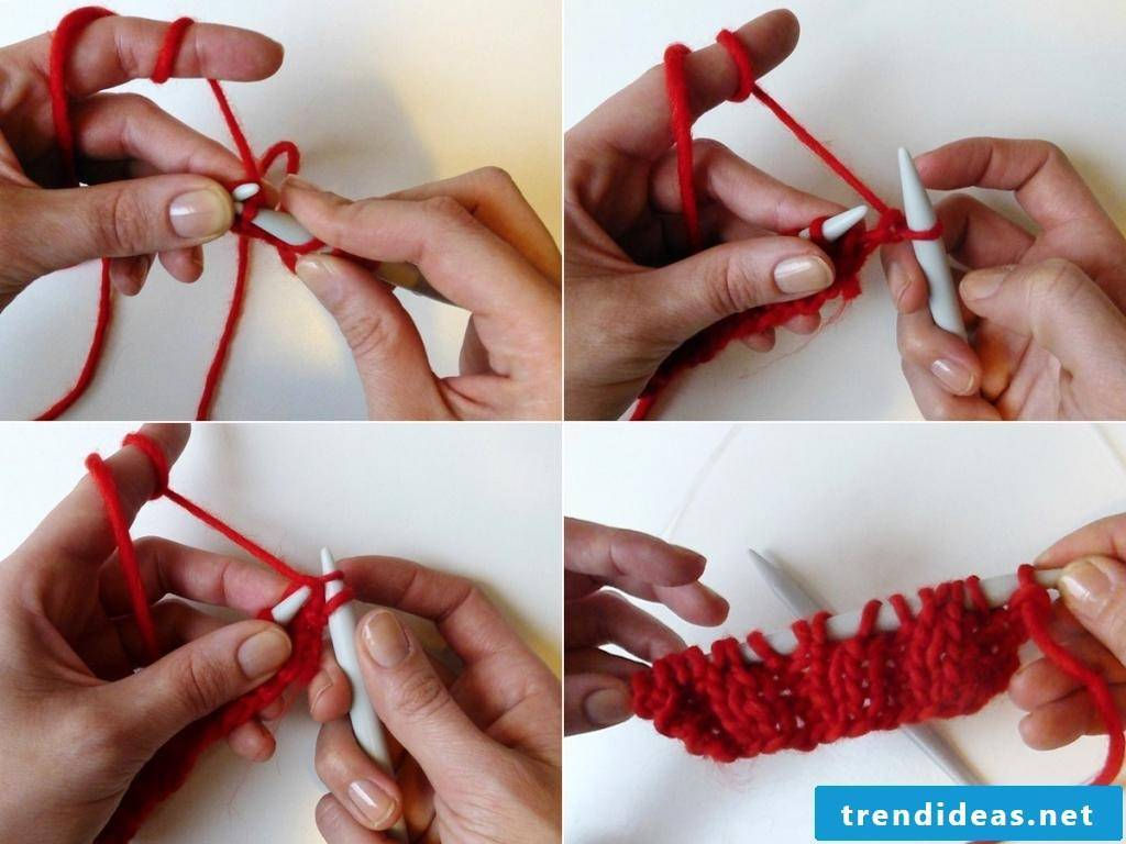 DIY: scarf knitting for beginners