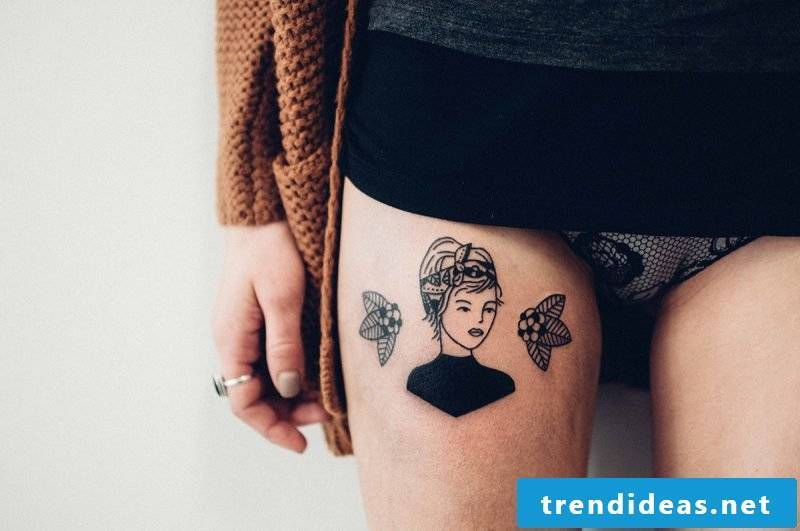 Ephemeral tattoo removal without a laser