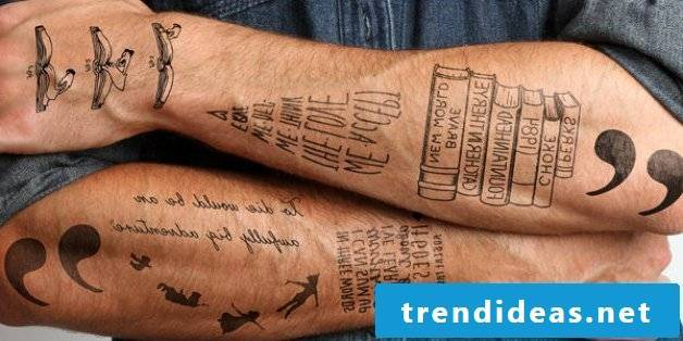 Remove ephemeral tattoo yourself