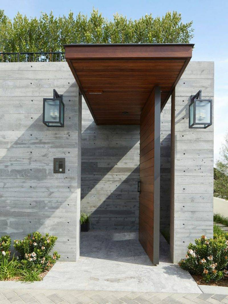 Charmant Hausturuberdachung. House Roofing After Wooden Door Awning Shade
