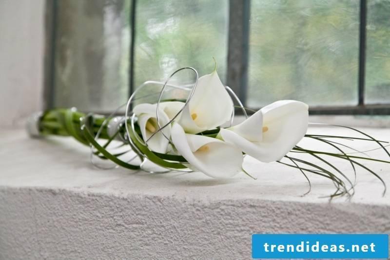 Bride bouquet Calla