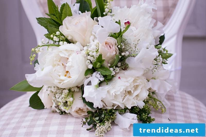 Bridal bouquet. Design ideas