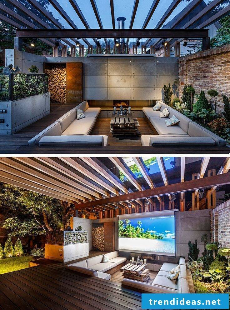 Bring the home theater in your own garden!