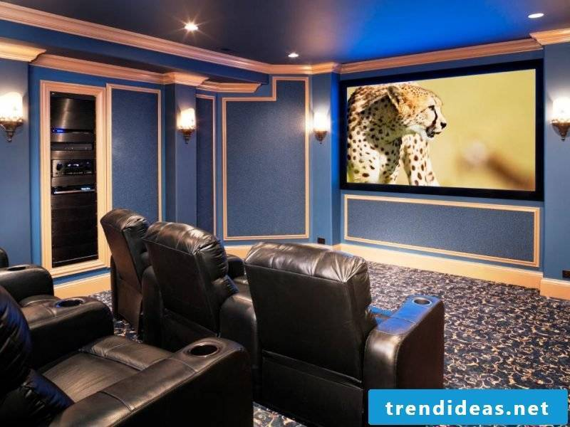 Be inspired by the luxury of this stressless home cinema!