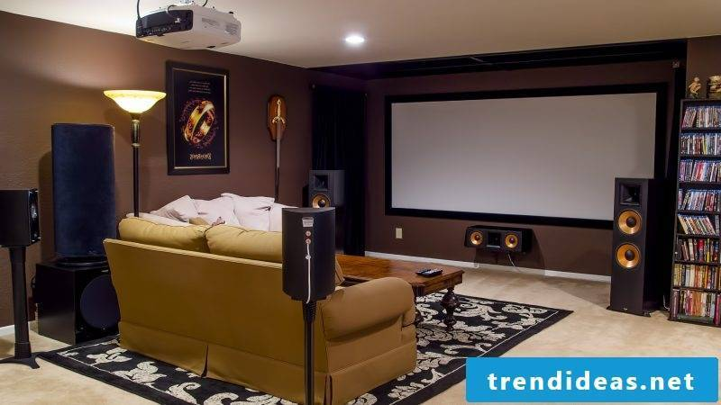 Build stressless home cinema yourself - you have to pay attention