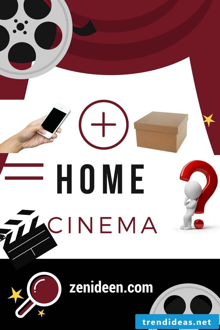 Build your own stressless home cinema for 5 EUR - is that possible?