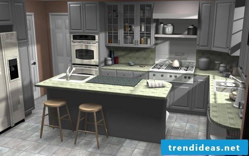 Ikea kitchen planner - 10 ideas for correct kitchen planning