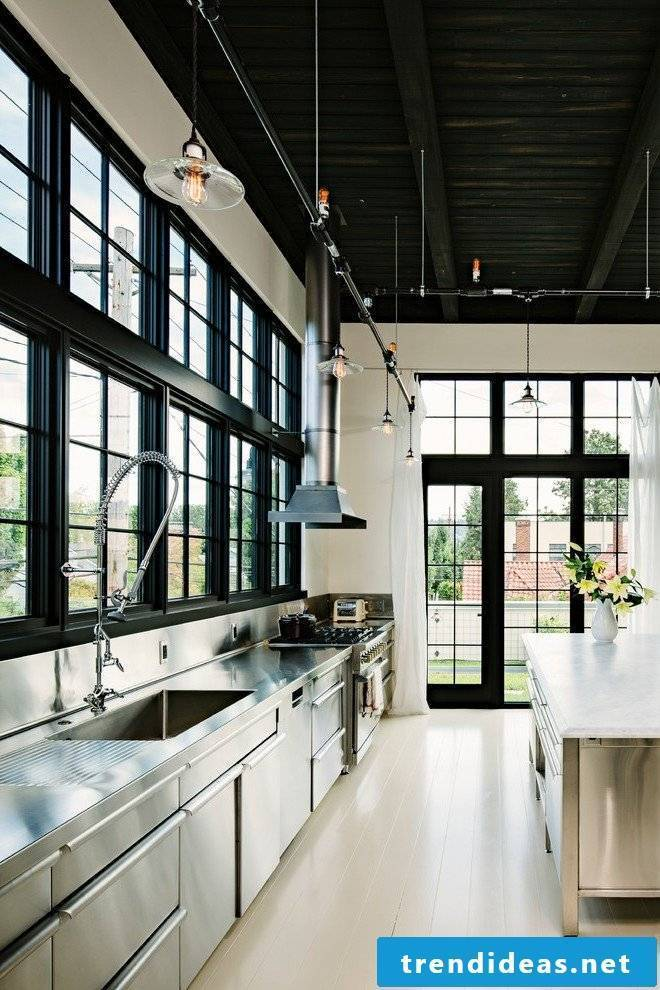 Industrial Chic - Industrial Kitchen