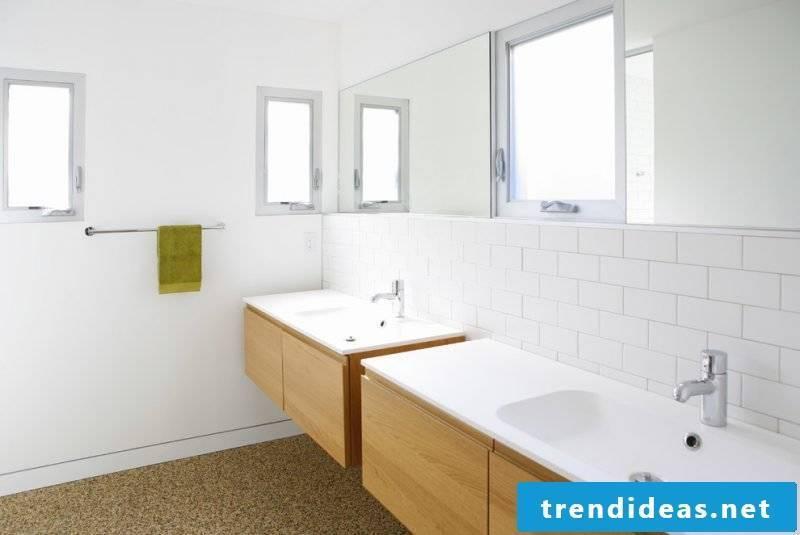 Ikea Besta shelf in the bathroom