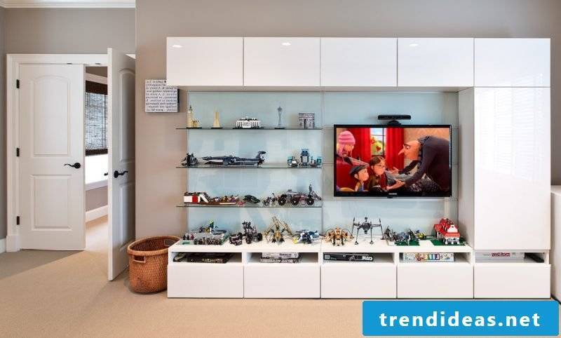 Ikea Besta shelf storage system